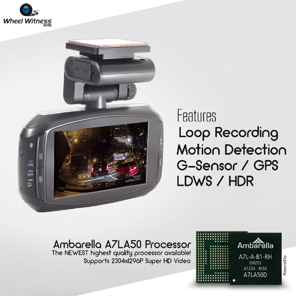 Wheelwitness HD Pro Premium Dashboard Camera review