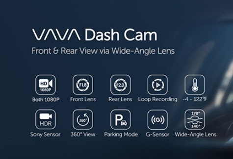 VAVA Dash Cam VD002 Full Review